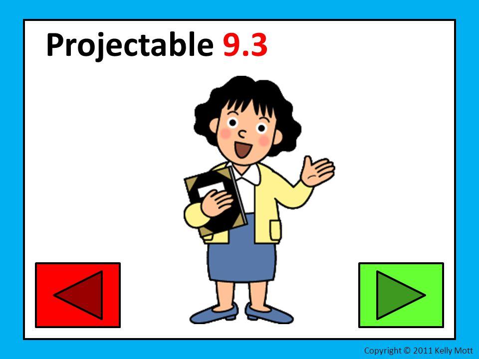 Projectable 9.3 Copyright © 2011 Kelly Mott
