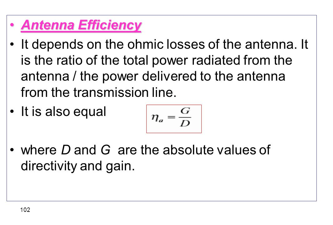Antenna Efficiency