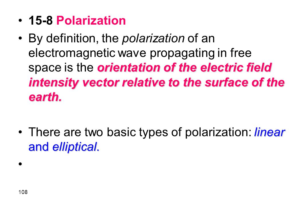 15-8 Polarization
