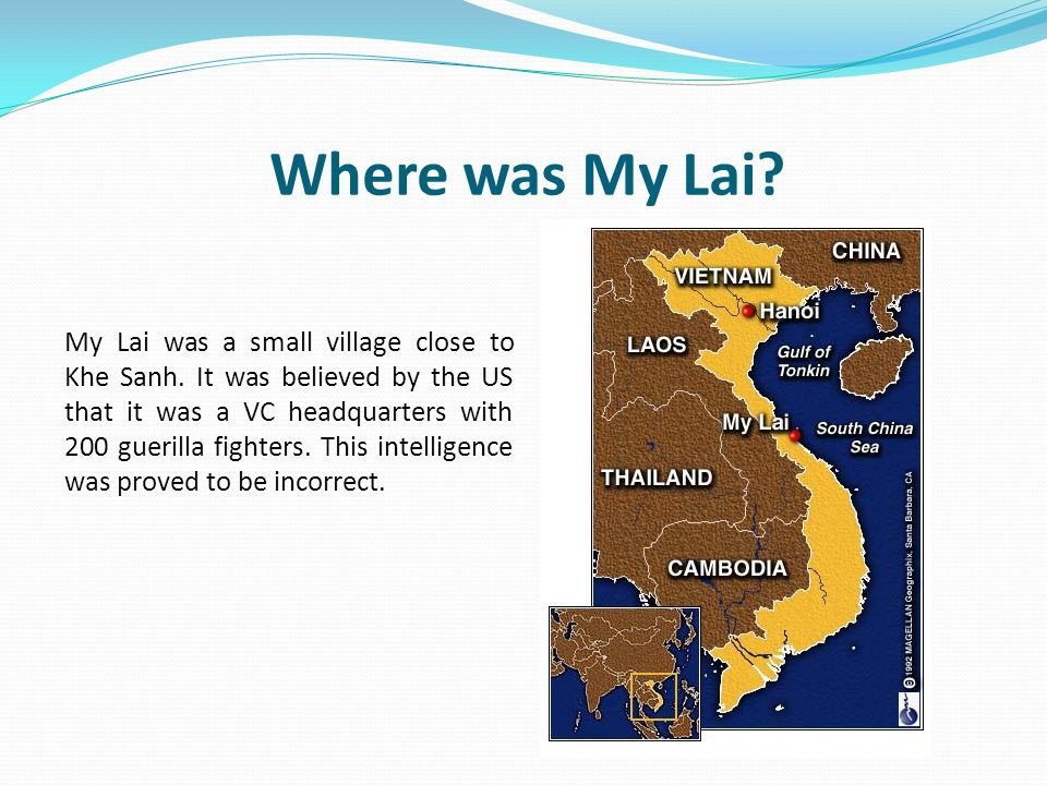 Where was My Lai