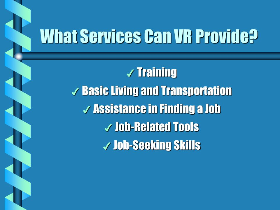 What Services Can VR Provide
