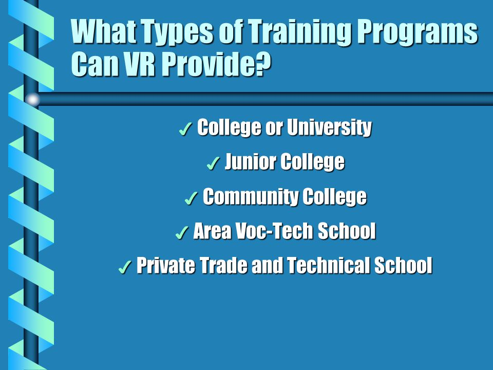 What Types of Training Programs Can VR Provide