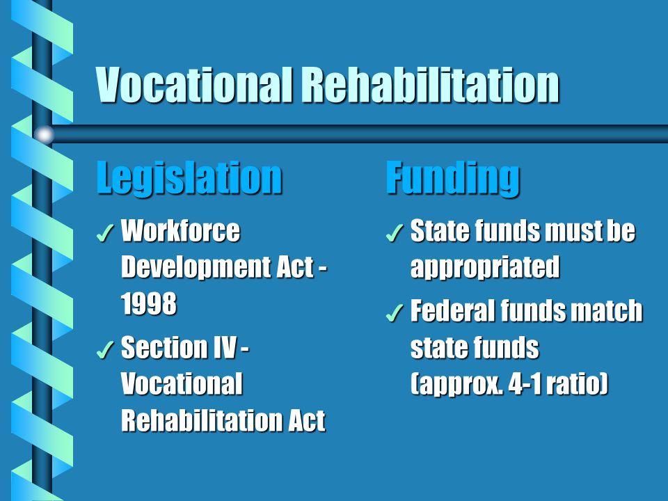 Vocational Rehabilitation