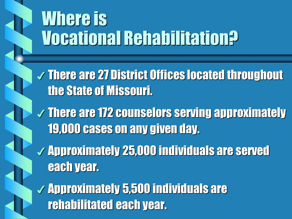 Where is Vocational Rehabilitation