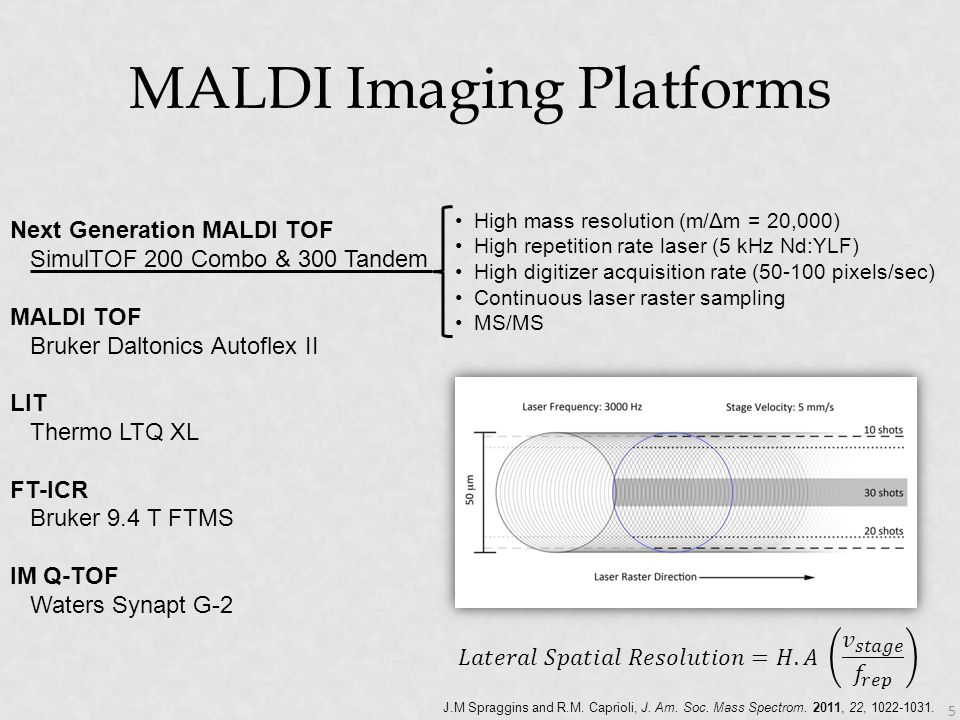 MALDI Imaging Platforms