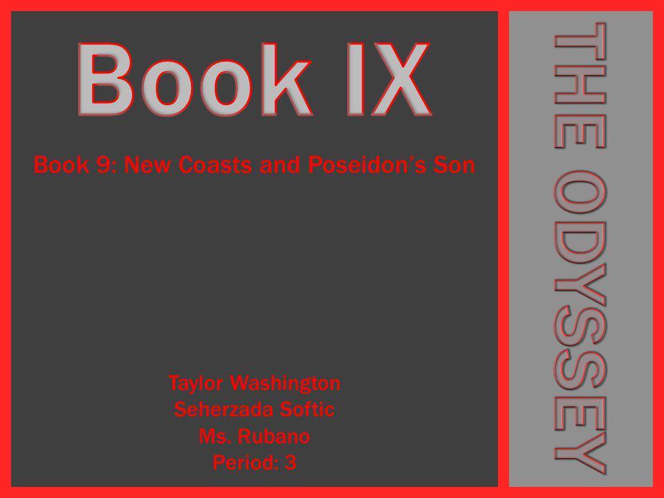 Book 9: New Coasts and Poseidon's Son