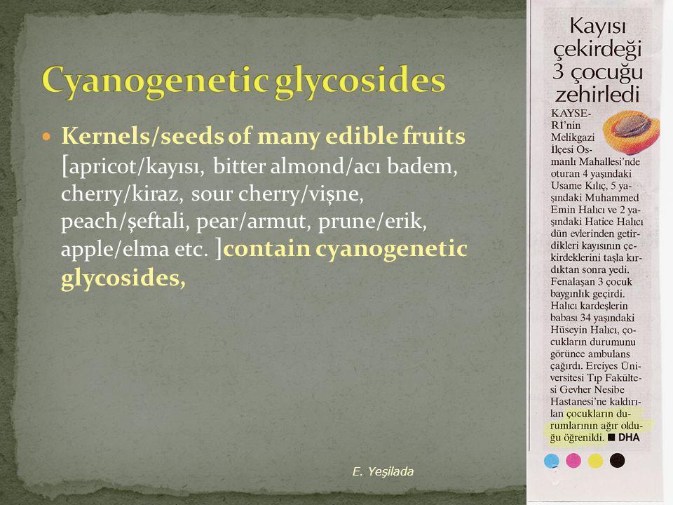 Cyanogenetic glycosides