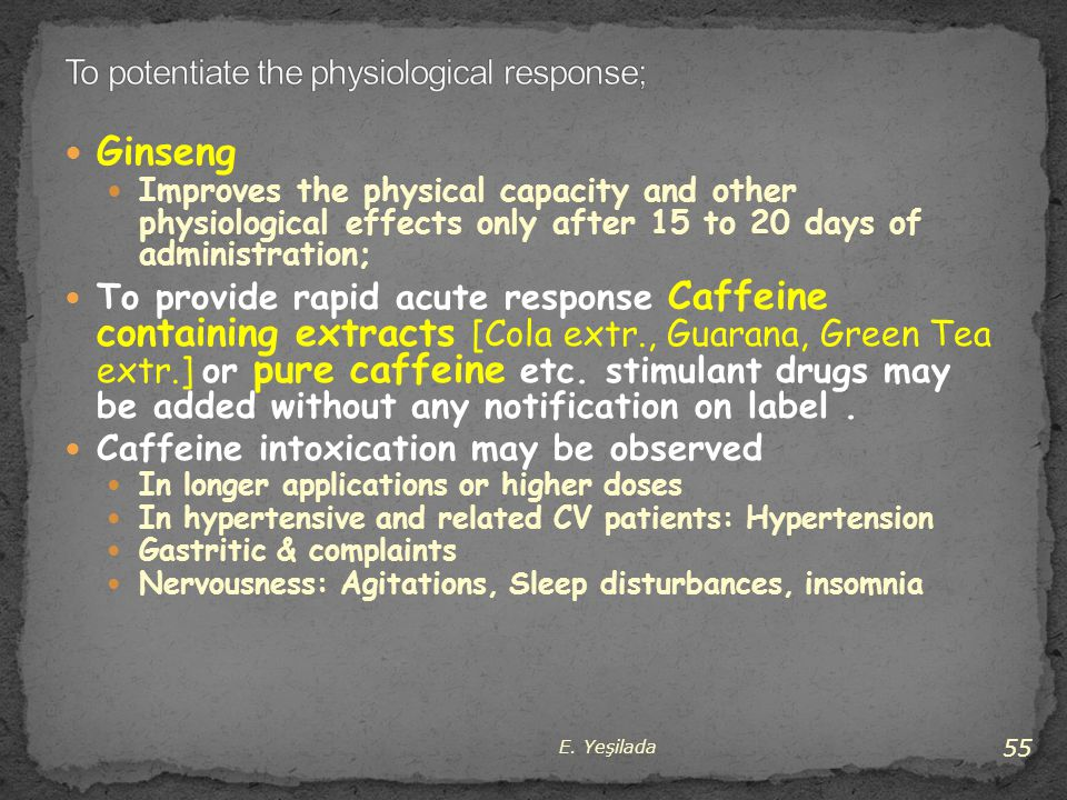 To potentiate the physiological response;