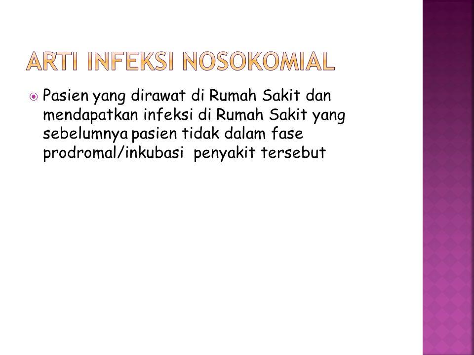 Arti infeksi nosokomial