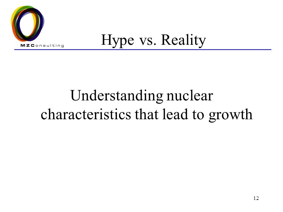 Understanding nuclear characteristics that lead to growth