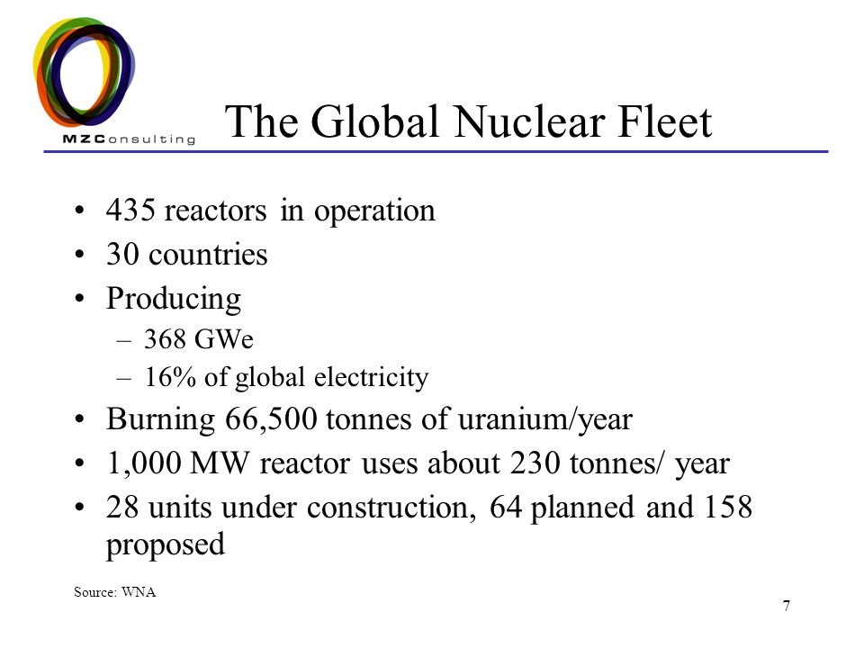 The Global Nuclear Fleet