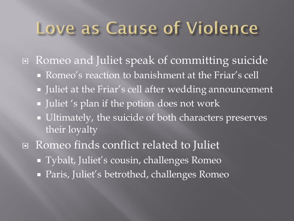 Love as Cause of Violence