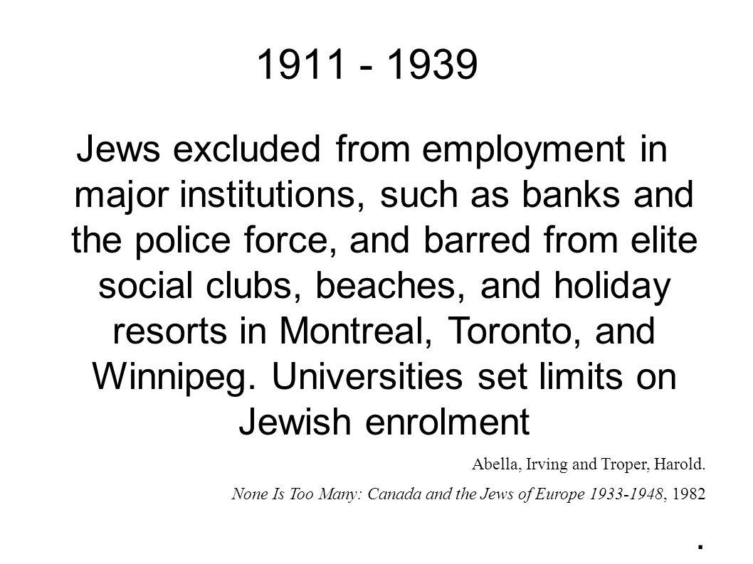 1911 - 1939