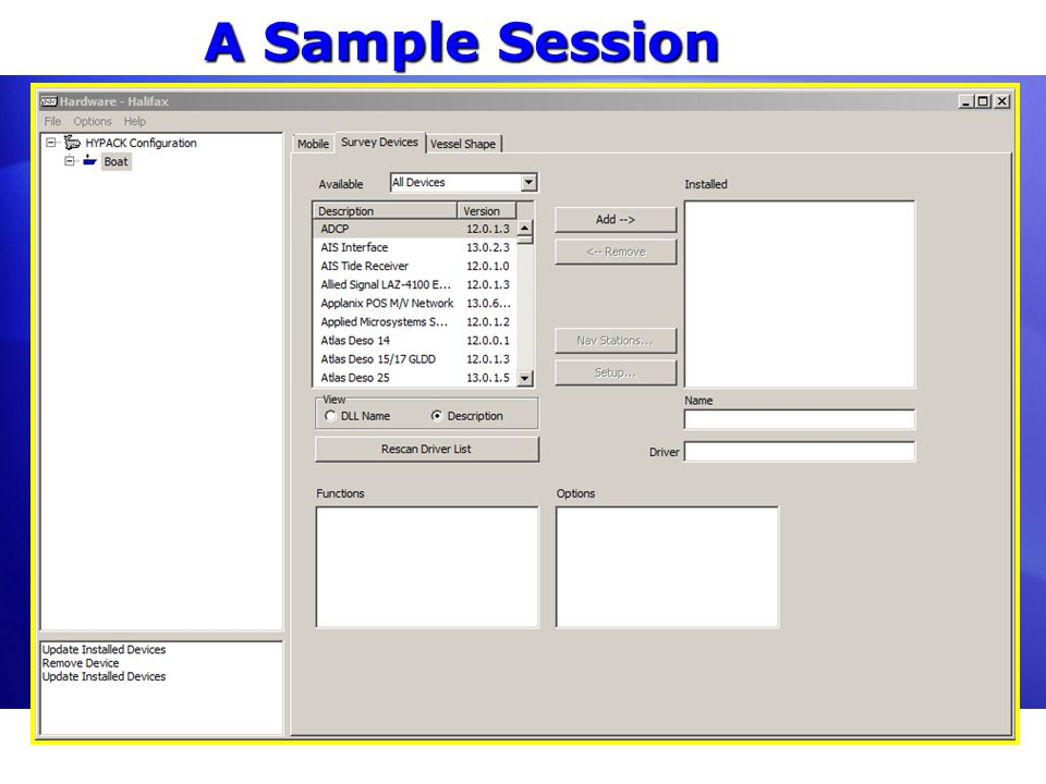 A Sample Session Note to change dialog with scroll bar