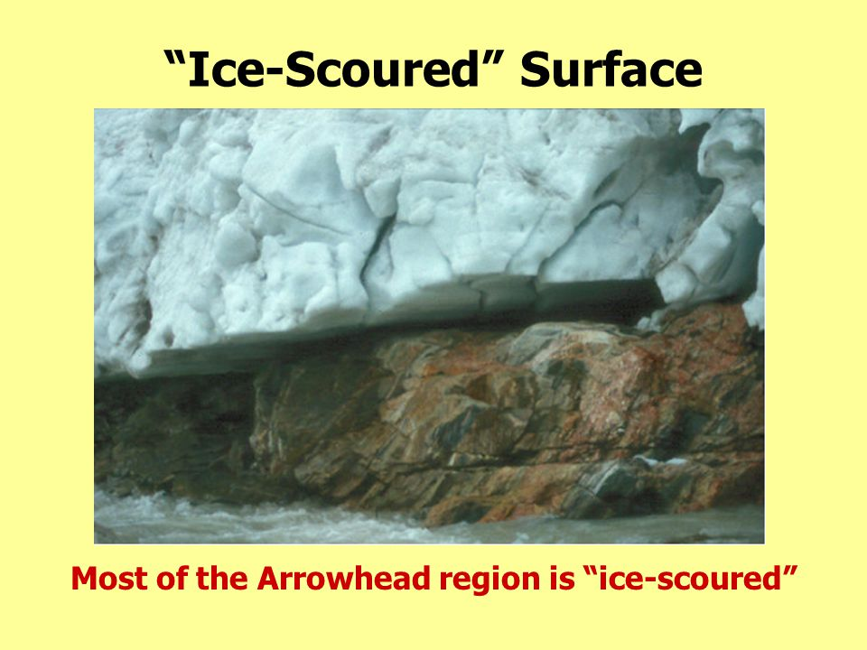 Ice-Scoured Surface