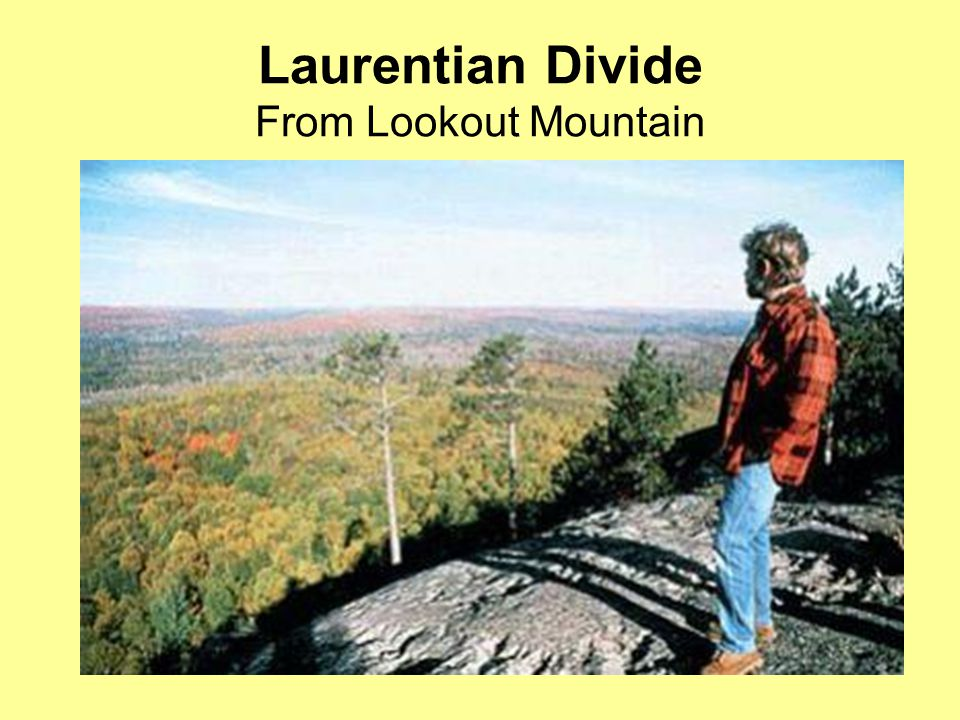 Laurentian Divide From Lookout Mountain