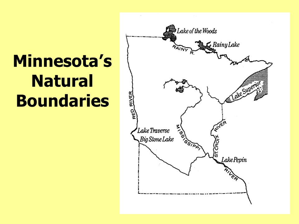 Minnesota's Natural Boundaries