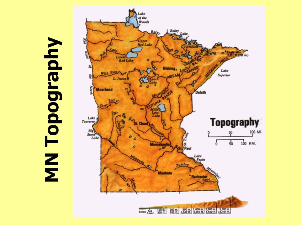 MN Topography