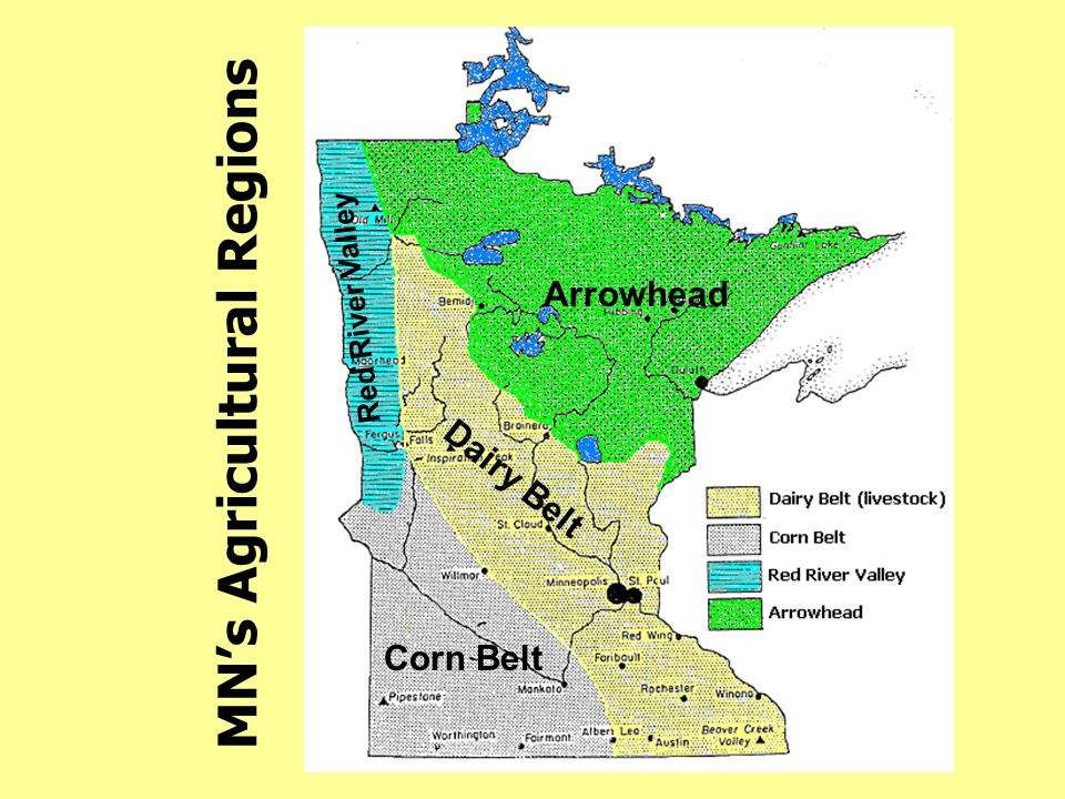 MN's Agricultural Regions