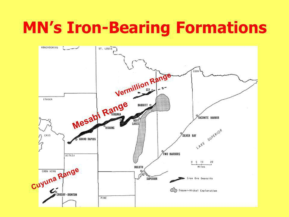 MN's Iron-Bearing Formations