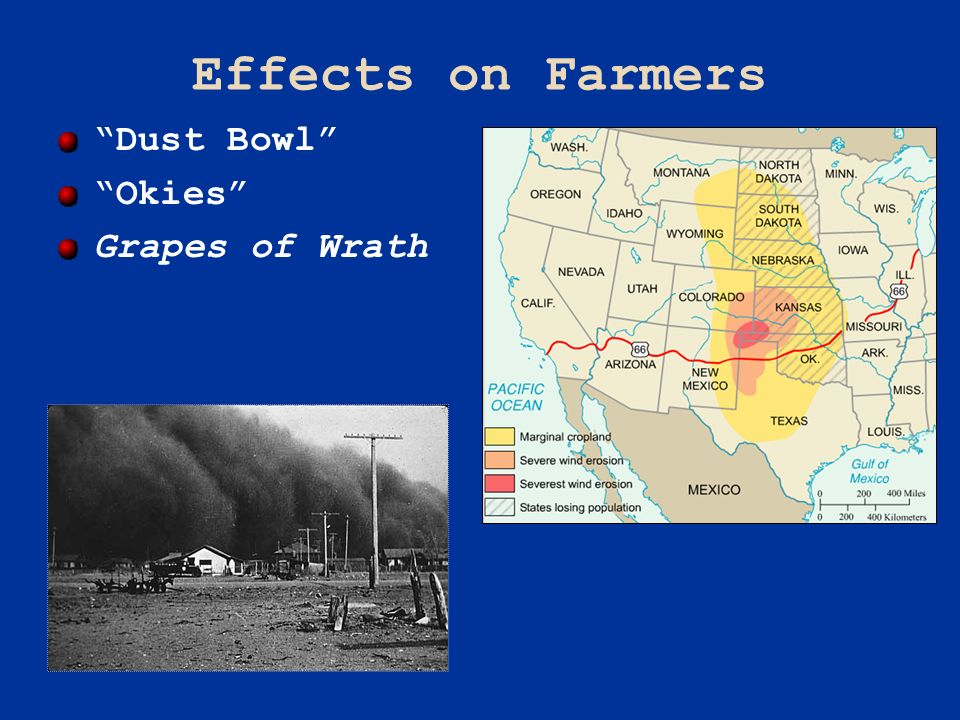 Effects on Farmers Dust Bowl Okies Grapes of Wrath Pageant 13e