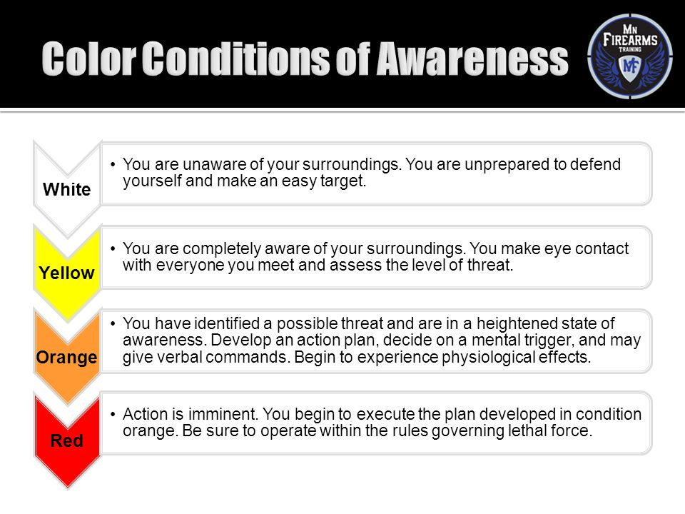 Color Conditions of Awareness
