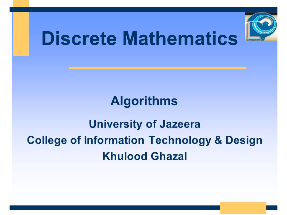 College of Information Technology & Design
