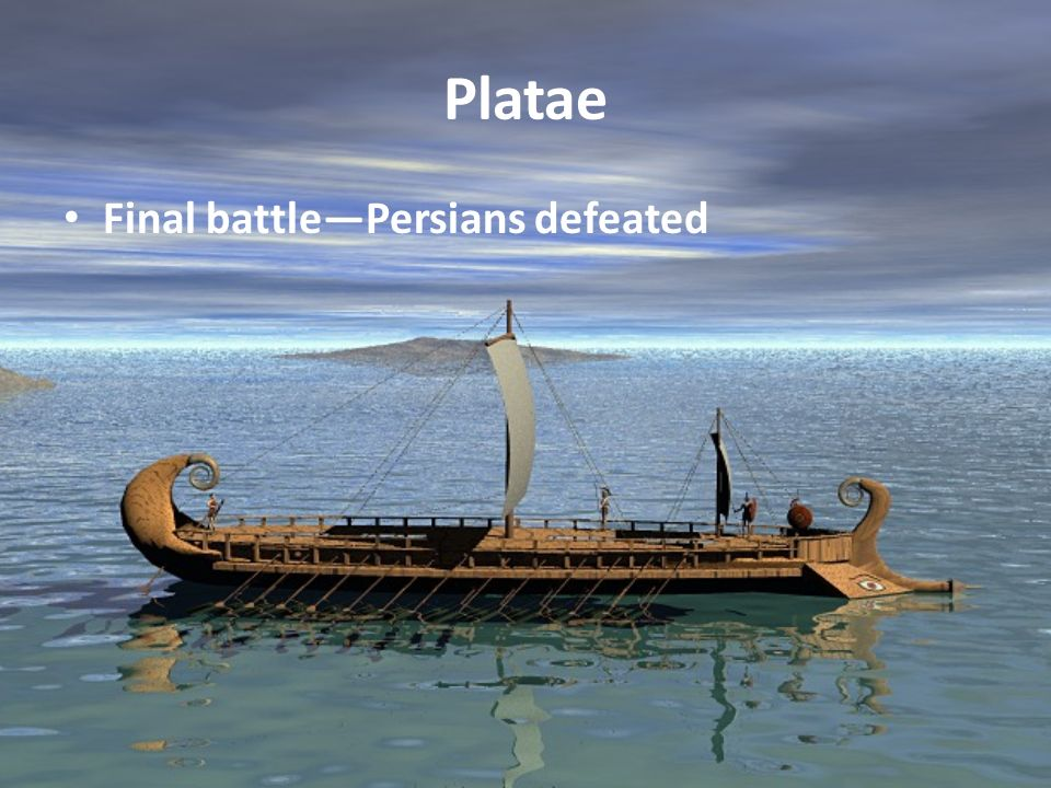 Platae Final battle—Persians defeated