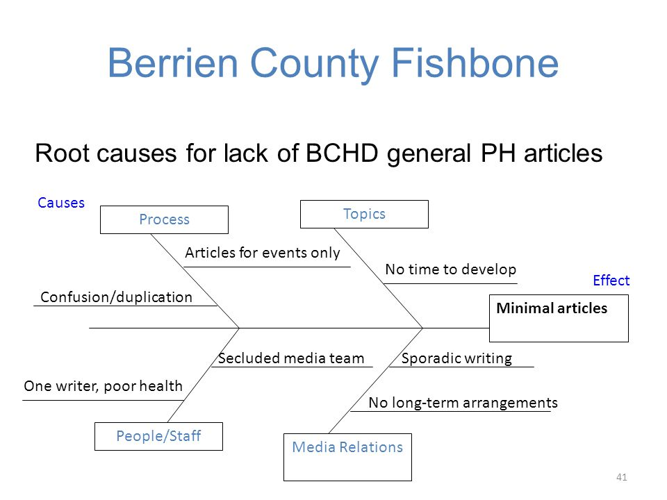 Berrien County Fishbone