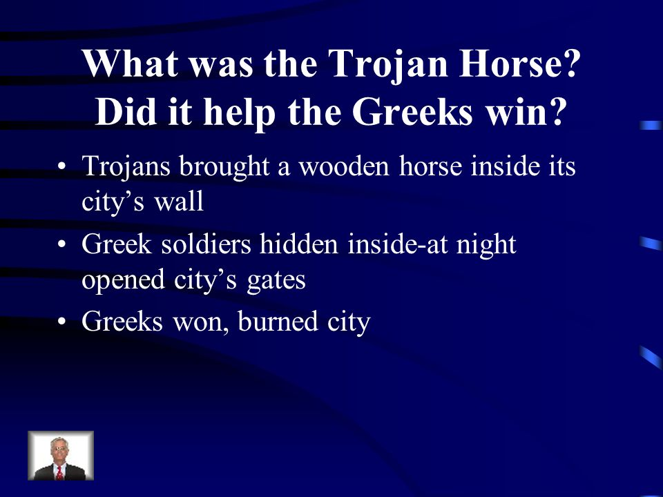 What was the Trojan Horse Did it help the Greeks win