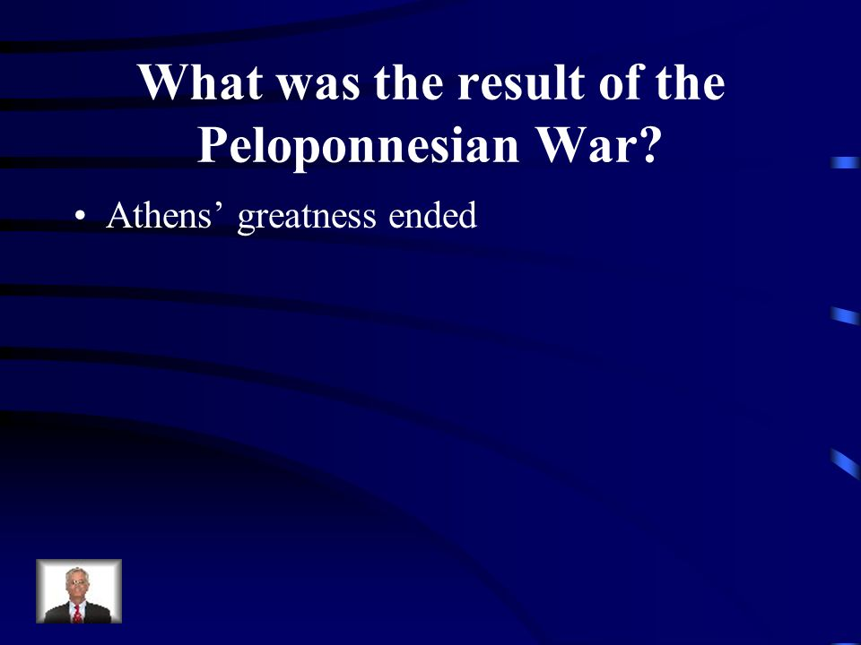 What was the result of the Peloponnesian War