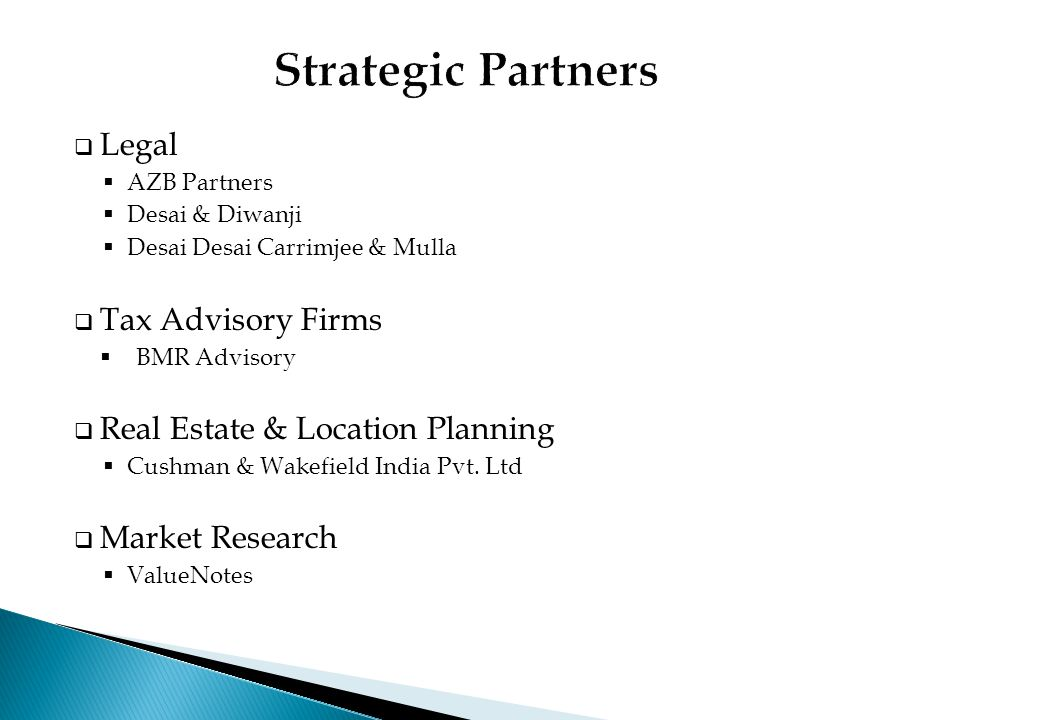 Strategic Partners Legal Tax Advisory Firms