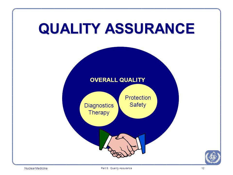Part 9 Quality Assurance