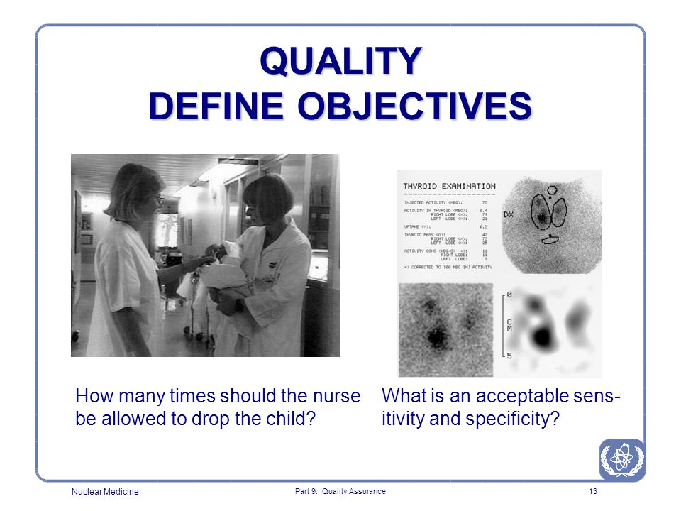 QUALITY DEFINE OBJECTIVES