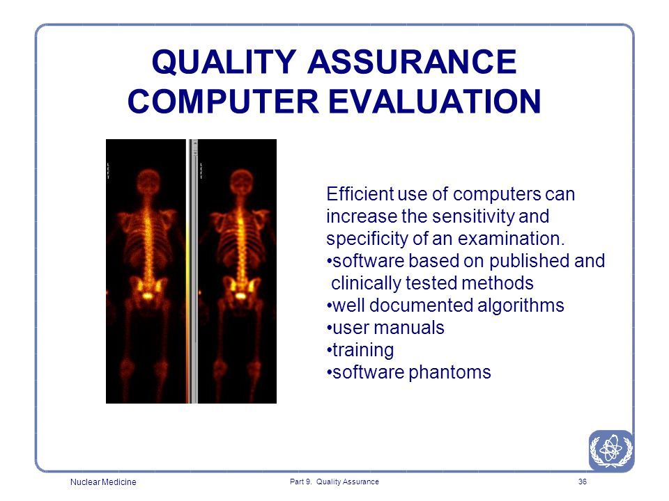 QUALITY ASSURANCE COMPUTER EVALUATION