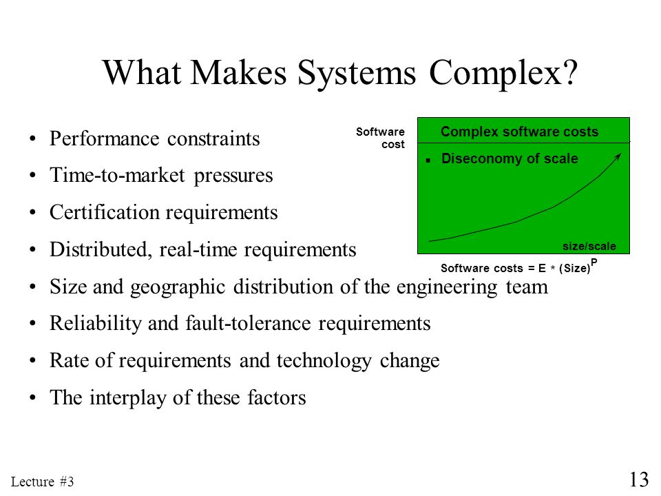 What Makes Systems Complex