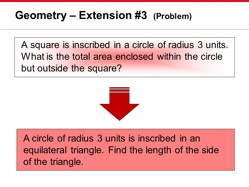Geometry – Extension #3 (Problem)