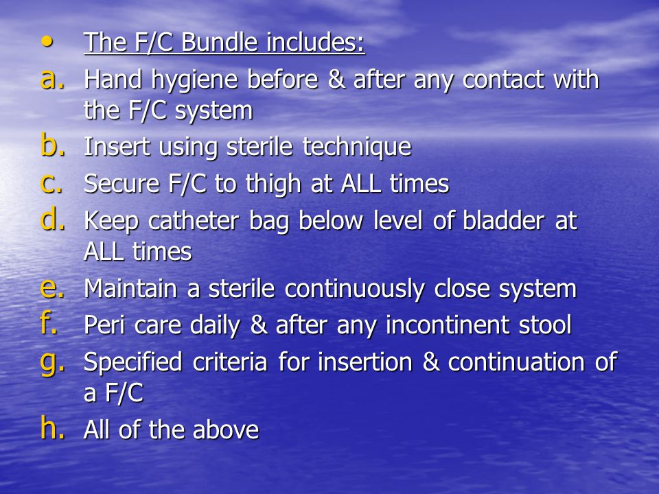 The F/C Bundle includes: