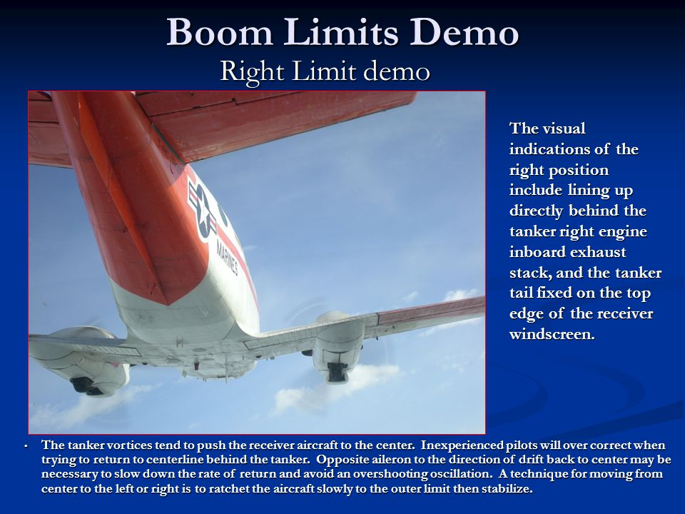 Boom Limits Demo Right Limit demo