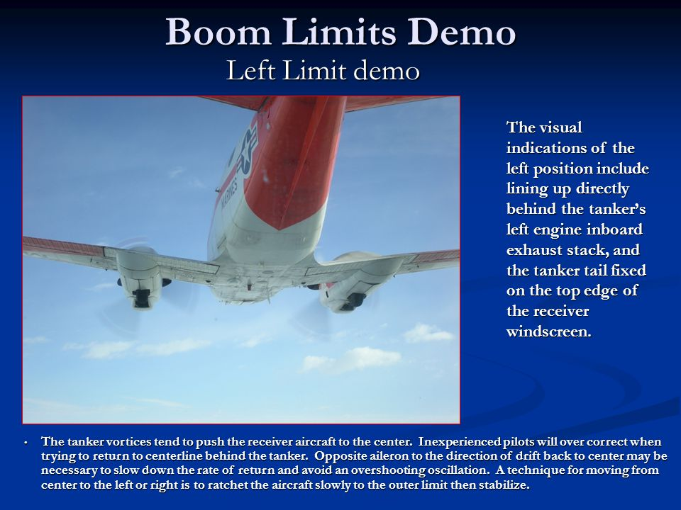 Boom Limits Demo Left Limit demo