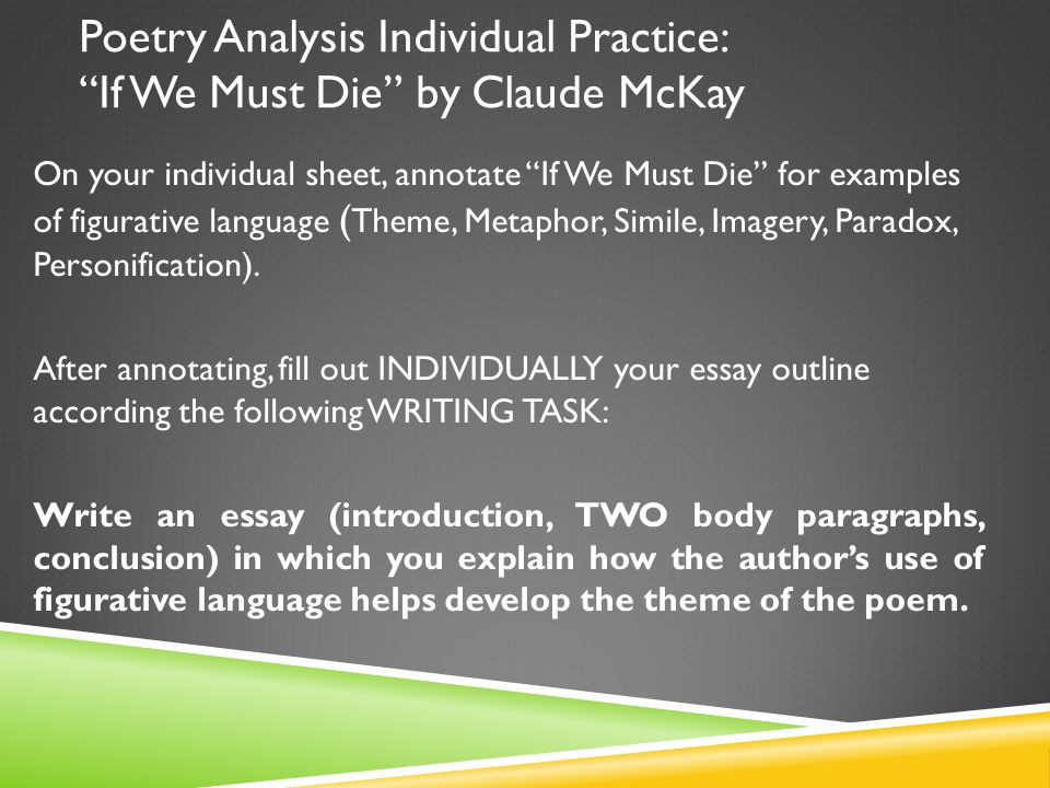 """Introduction to Poetry"" – Analysis"