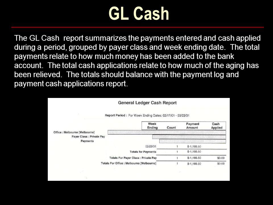 GL Cash