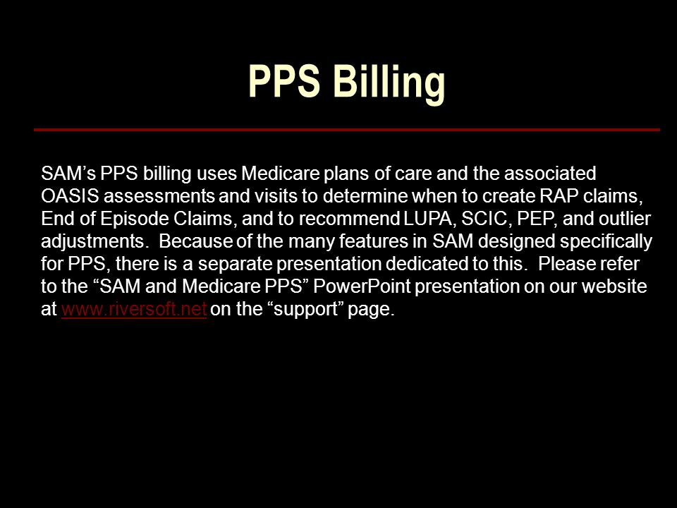 PPS Billing