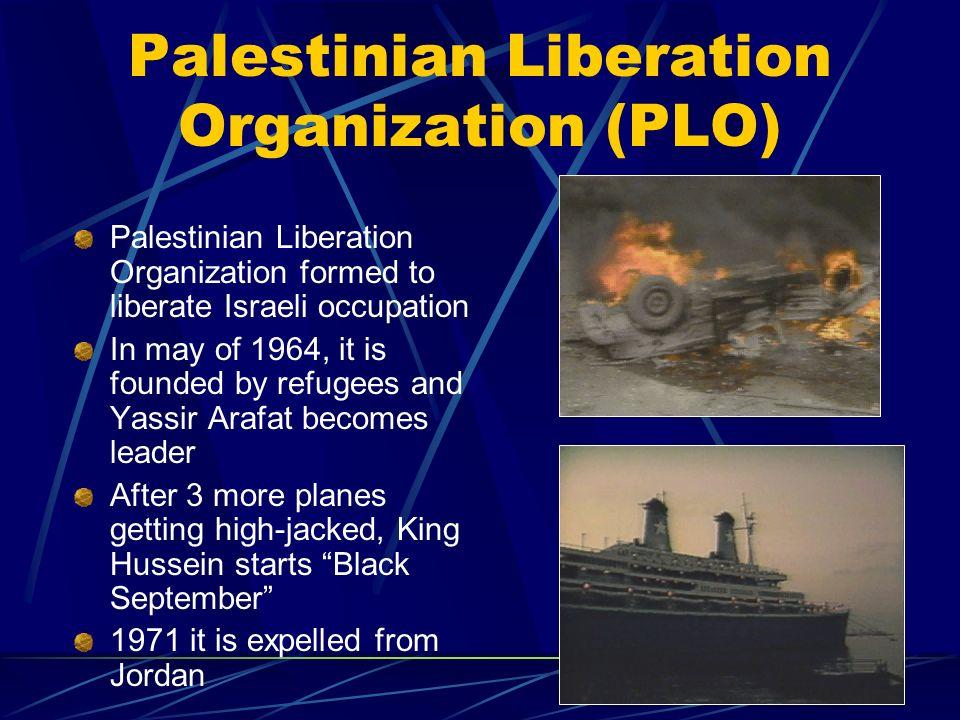 Palestinian Liberation Organization (PLO)