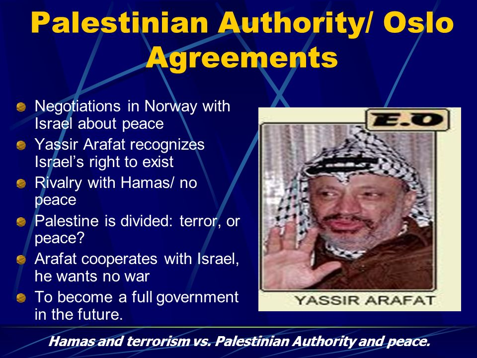 Palestinian Authority/ Oslo Agreements