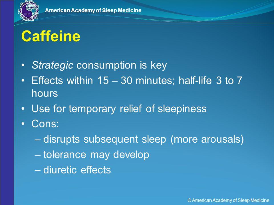 Caffeine Strategic consumption is key