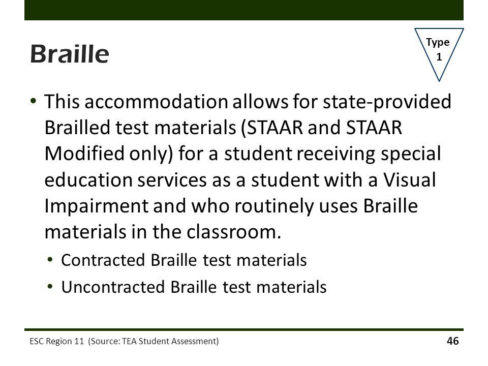 Braille Type. 1.