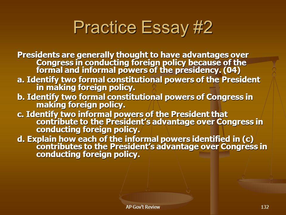 Practice Essay #2