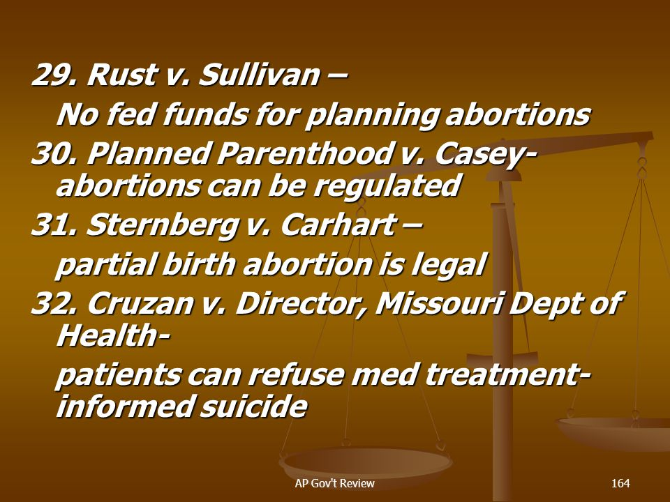No fed funds for planning abortions