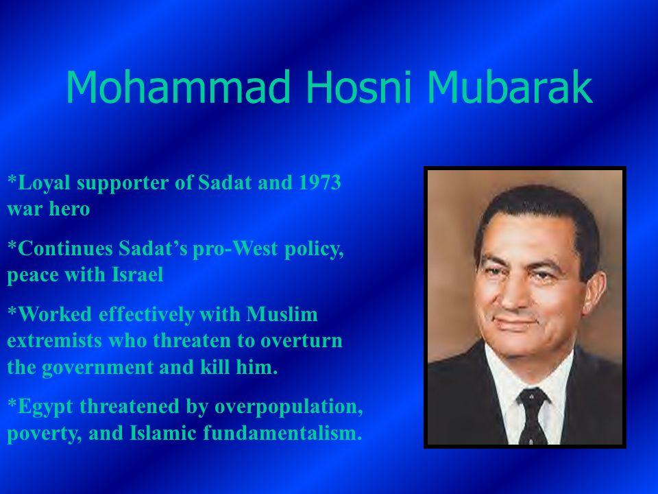 Mohammad Hosni Mubarak